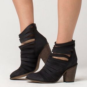 Free People Hybrid Strappy Boots